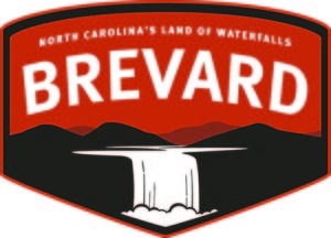 Brevard land of the Waterfalls logo