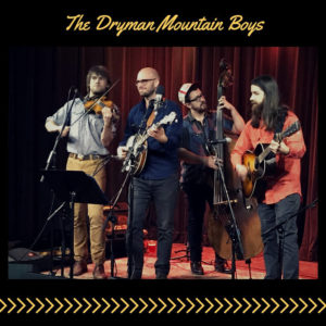 Dryman Mountain Boys band playing at after ride party for WNC Flyer
